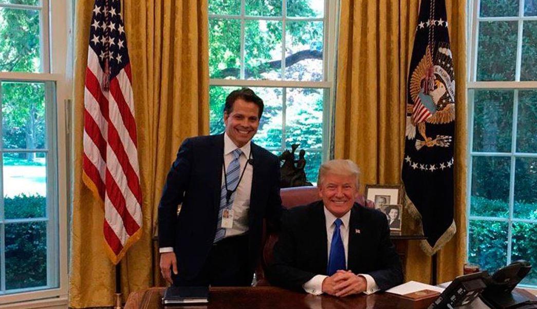 Anthony Scaramucci, Donald Trump, Casa Blanca, Director, Comunicaciones, Tuits, Trump
