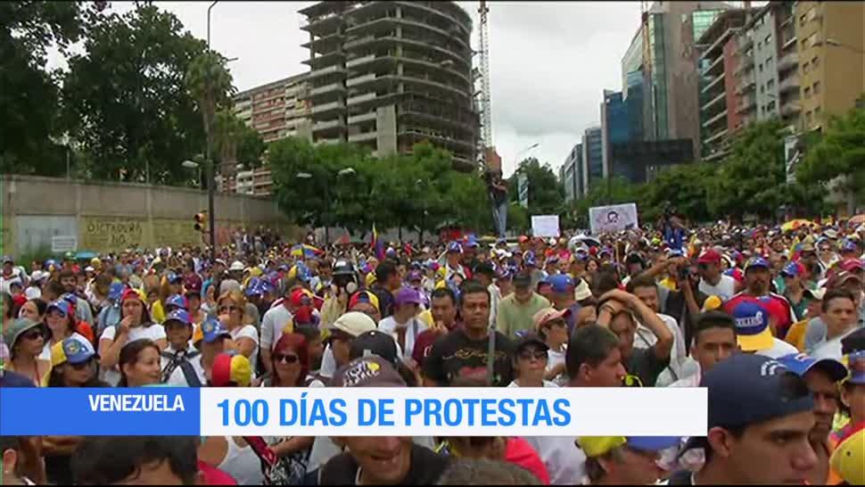 Se cumplen, 100 días, protestas, Venezuela, manifestaciones, contra maduro