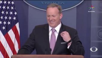 Renunció Sean Spicer Polémico Vocero Casa Blanca Explicar Trump