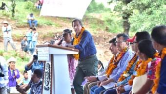 Secretario, Meade, Planta Tratamiento Aguas Residuales, Cochoapa