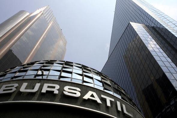 Bolsa Mexicana retrocede luego cinco sesiones alza