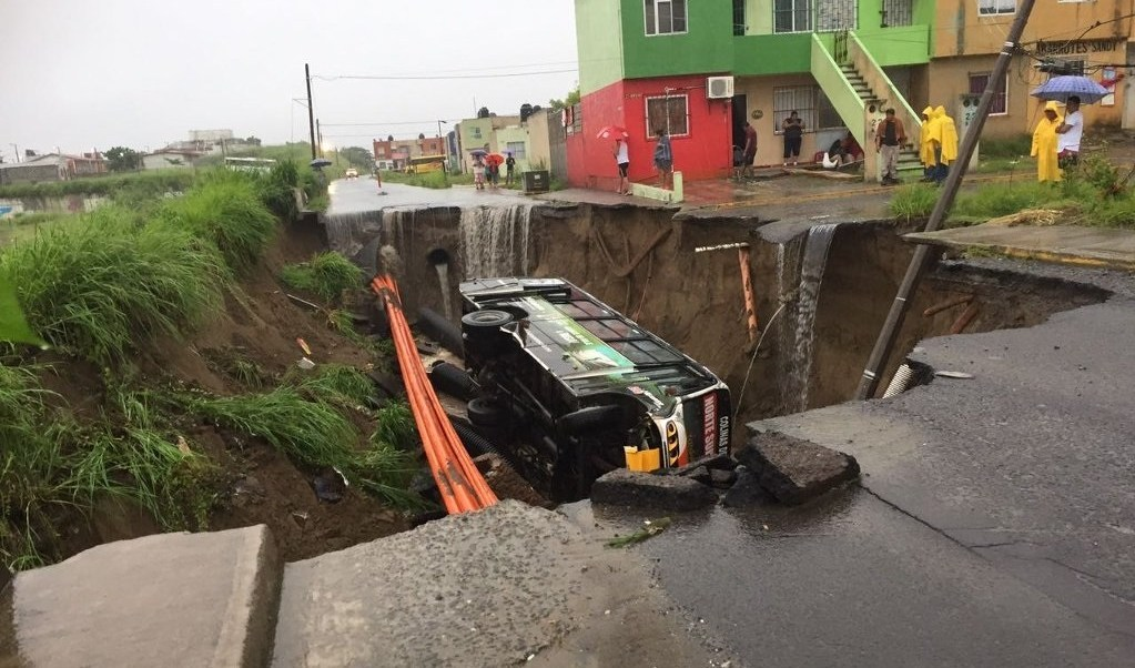 Socavon, Lluvias, Veracruz, Socavon en Veracruz, Clima