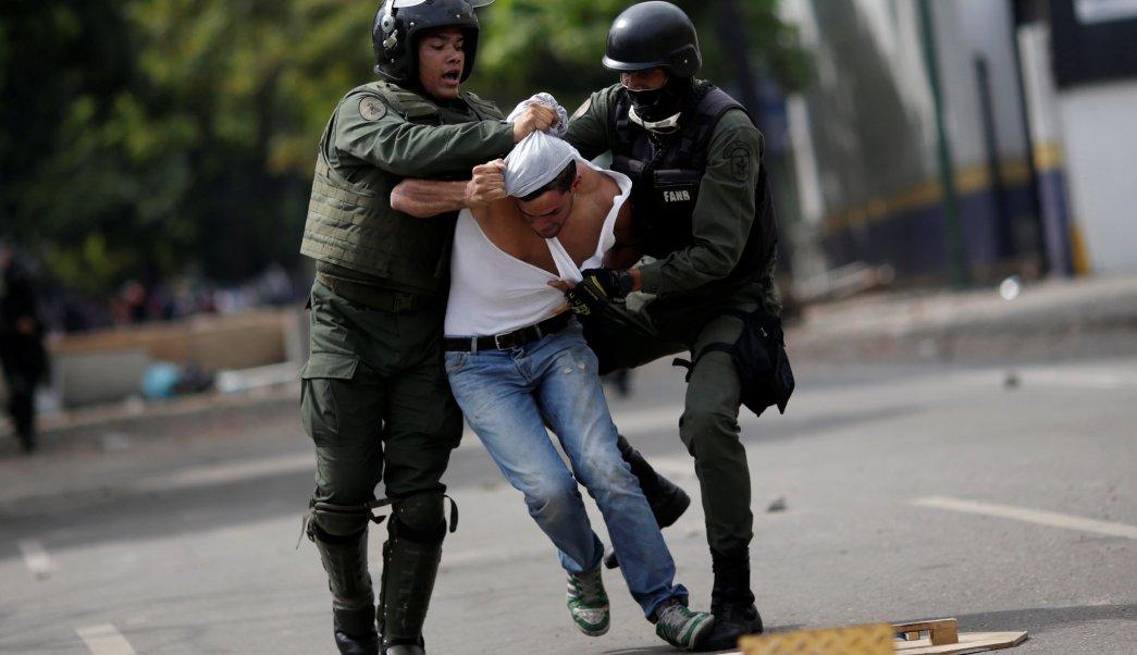 Muere Adolescente Herido Bala Protesta Caracas