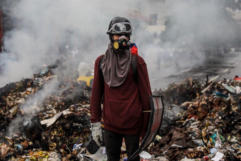 Suman 86 muertos por la crisis en Venezuela. (EFE)