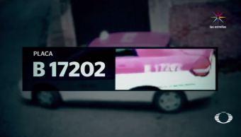 Denuncian nueva agresión de taxista contra una joven en Tlalpan