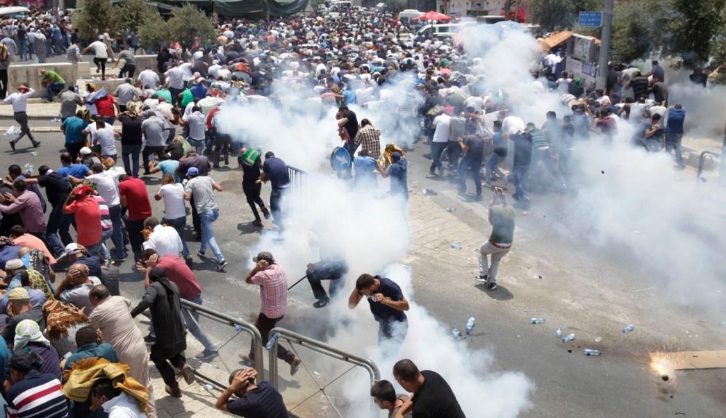 Santuario, Jerusalén, palestinos, muertos, palestina, protestas