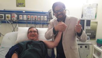 Alias Timochenko, hospitalizado tras accidente cerebro vascular