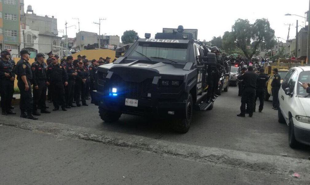 SSP, Tlahuac, Cdmx, Policia, Noticieros Televisa, Forotv