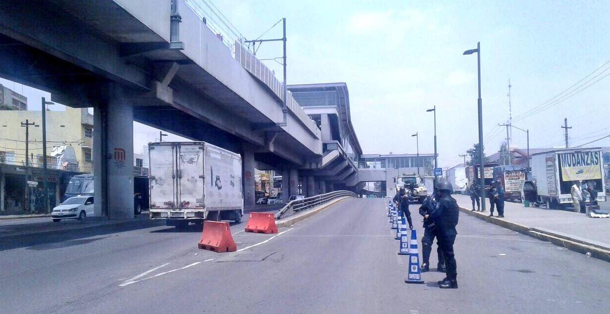 Aseguran a 25 mototaxistas que participaron en bloqueos de Tláhuac