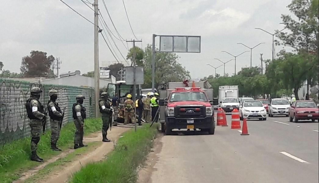 Toma Clandestina, Seguridad, Guanajuato, Fuerzas Federales