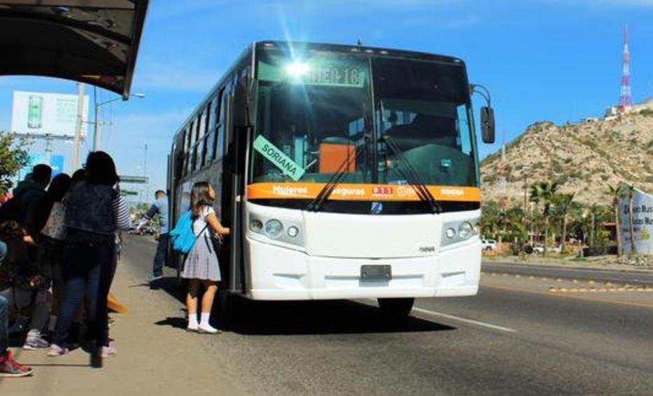 Aumentan tarifas del transporte publico en Sonora. (Twitter @UNE_TRANSPORTE Archivo)