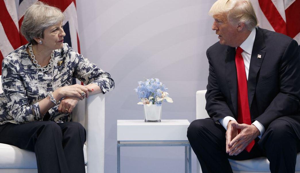Trump, EU, Reino Unido, Acuerdo Comercial, Theresa May, Comercio, Cumbre, G20, Alemania, Hamburgo