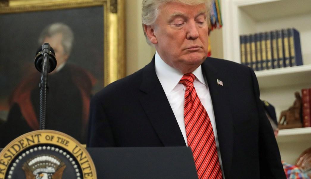El presidente de EU, Donald Trump (Reuters)