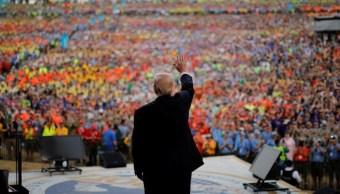 Donald Trump, Cumbre Scout, Virginia Occidental, Estados Unidos