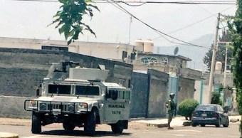 Semar repele agresión de presuntos narcomenudistas en Tlahuac