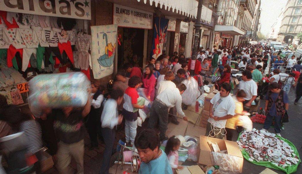 Vendedores ambulantes en Ciudad de México