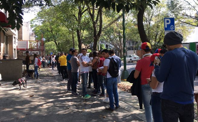 Venezuela, Cdmx, Asamblea constituyente, Consulta, Colonia narvarte, Nicolas maduro