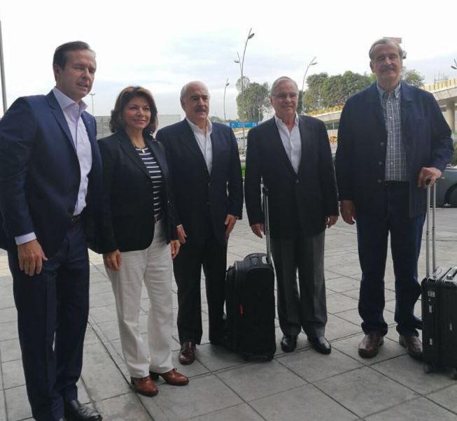 Vicente Fox, Andrés Pastrana, Jorge Quiroga, Laura Chinchilla, Miguel Ángel Rodríguez