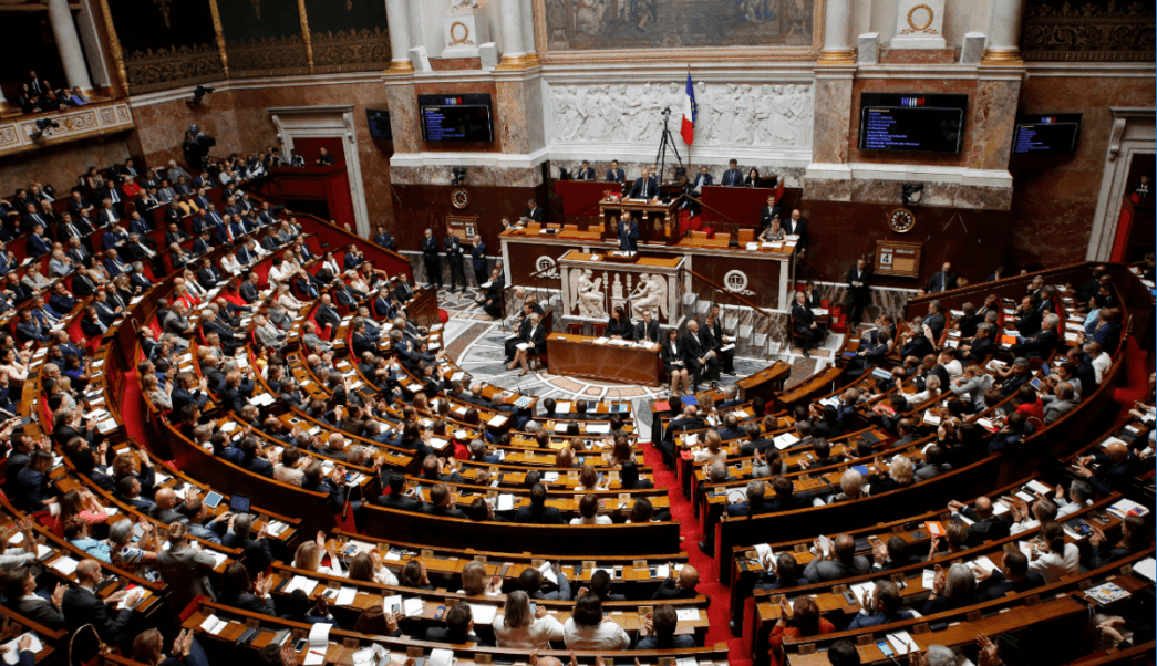 Vista general de la Asamblea General francesa