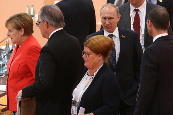 Vladimir Putin, presidente de Rusia, en la Cumbre del G20