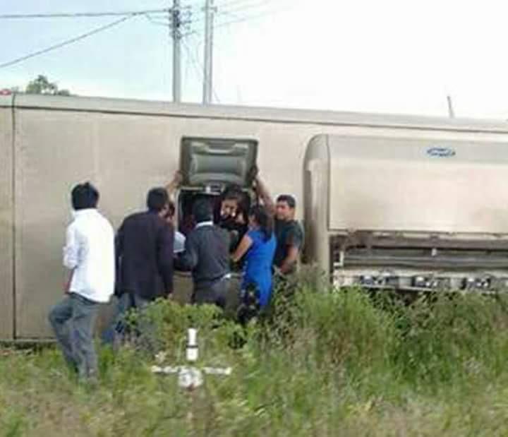 Varios estudiantes del cobat resultan lesionados