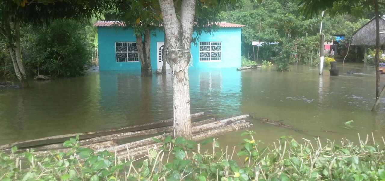 Oaxaca, Inundaciones, Lluvias, San jose chiltepec, Proteccion civil, Refugio temporal