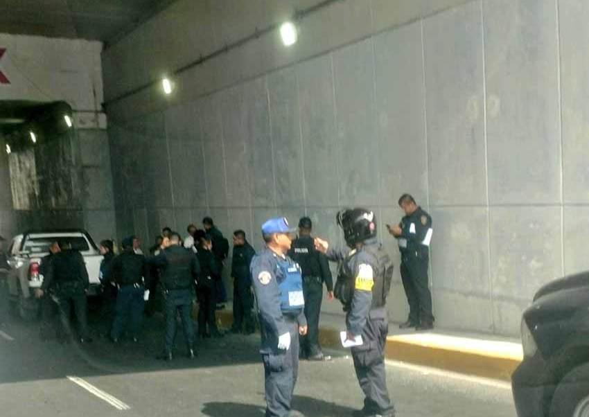 Río Churubusco, Circuito Interior, colonia Ermita, baleo, pistola, conductor