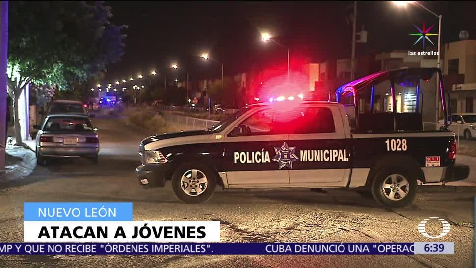 Atacan Jóvenes Santa Catarina Nuevo León