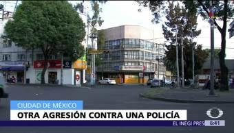 Atropellan Mujer policía CDMX Policías Agredidos