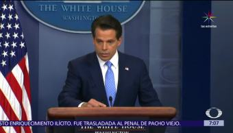 Anthony Scaramucci, destituido, Casa, Blanca