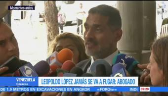 Abogado, Leopoldo López, incumplió, sentencia