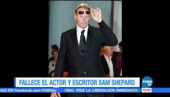 Fallece Actor Escritor Sam Shepard