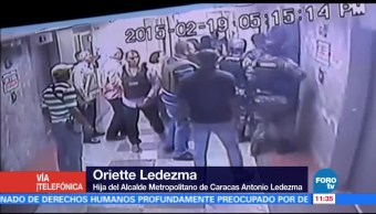 Oriette Ledezma, denuncia, detención, padre
