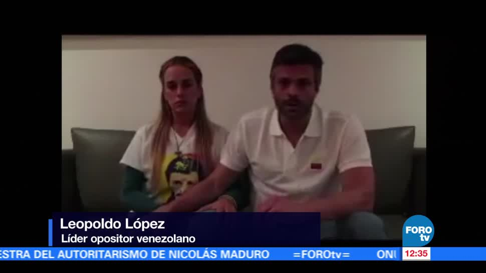 Tintori Publica Video Leopoldo López