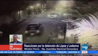 Leopoldo Lopez Vuelve Prision Ramo Verde Diputado De La Asamblea Nacional Venezolana, Winston Flores