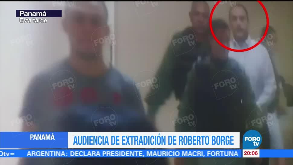 Llegada Exgobernador Roberto Borge Audiencia Panamá