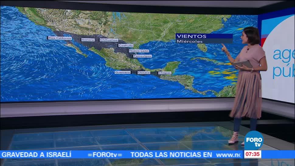Onda tropical, provocará, lluvias, México