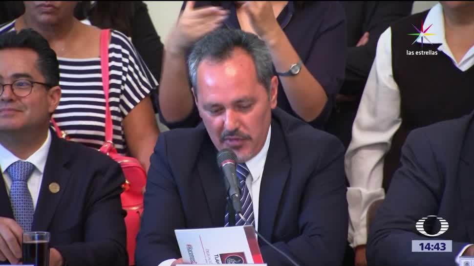 Comparece jefe delegacional Tláhuac Rigoberto Salgado