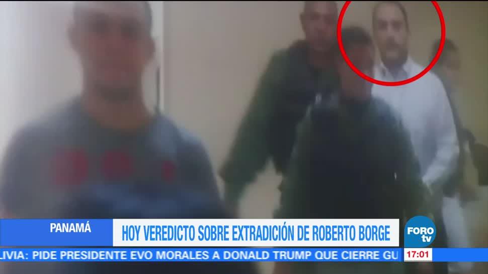 Defensa Borge no da declaraciones medios