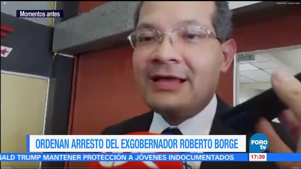 Ordenan formal arresto Borge en Panamá