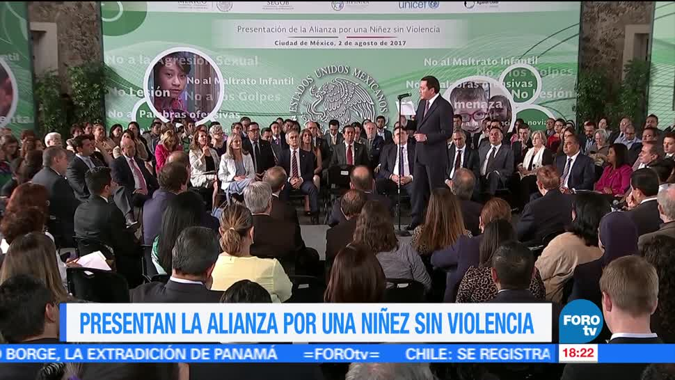Presentan Alianza Una Niñez sin Violencia