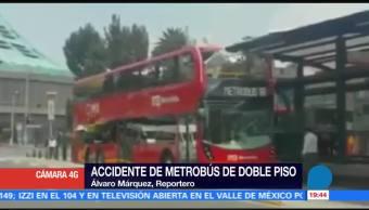 Incidente en Metrobús, por violación protocolo