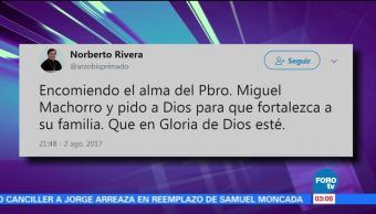 Muere sacerdote José Miguel Machorro Alcalá falleció