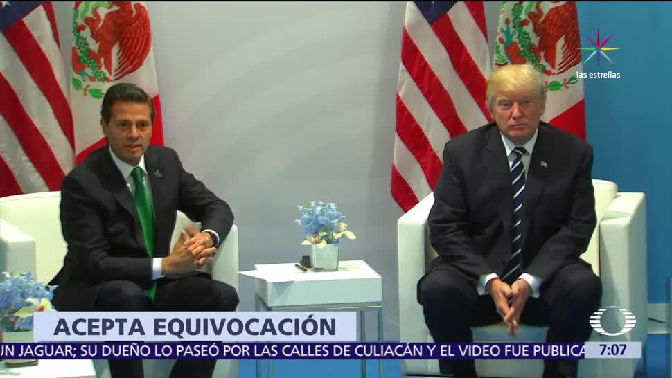 Casa Blanca Llamada Trump Peña Nieto