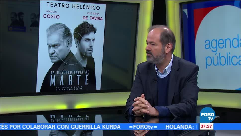 La desobediencia, Marte, Juan Villoro, teatro