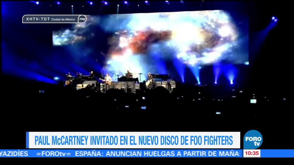Paul McCartney, nuevo, disco, Foo Fighters