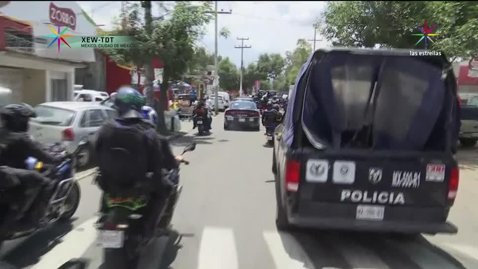 Tarde violenta en Xochimilco durante operativo contra mototaxis