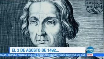 Efeméride Una Hora Cristóbal Colón expediciones