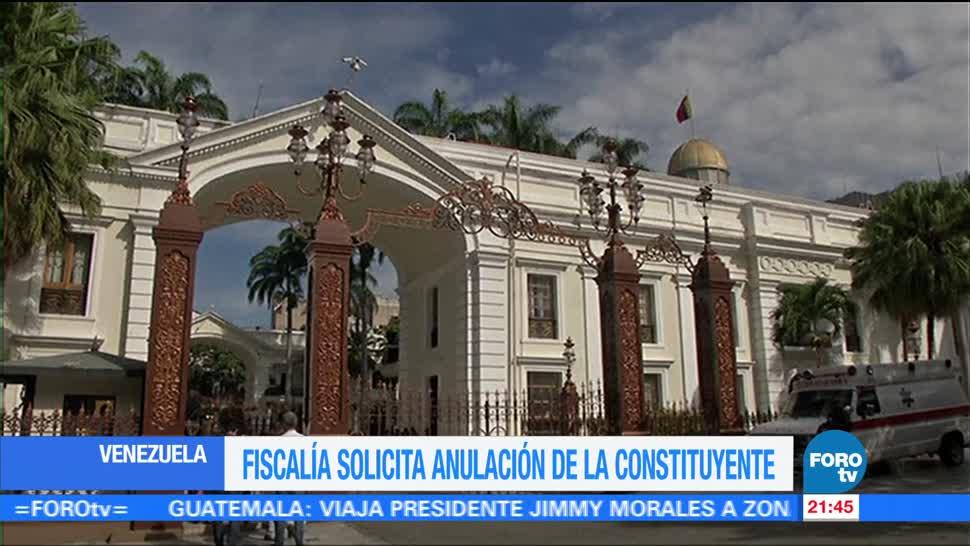 Fiscalía solicita disolución de la Asamblea Constituyente