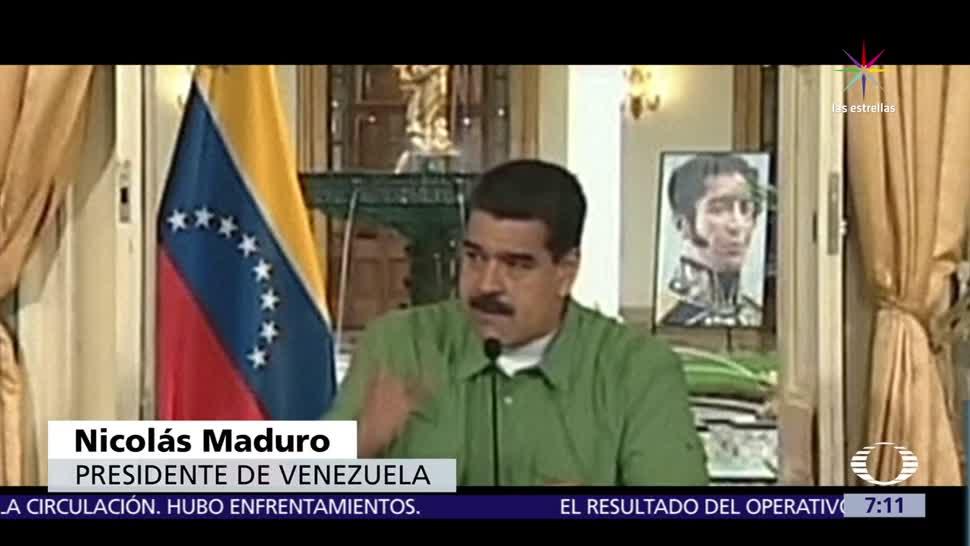 Nicolas Maduro Arremete Contra Enrique Peña Nieto Presidente De Venezuela